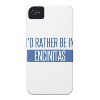 I'd rather be in Encinitas iPhone 4 Case