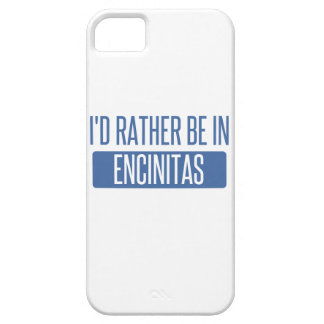 I'd rather be in Encinitas iPhone SE/5/5s Case