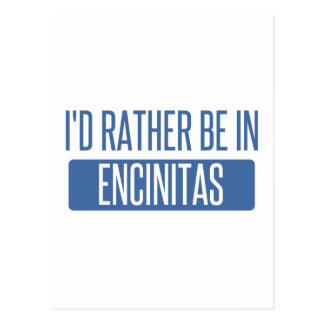 I'd rather be in Encinitas Postcard