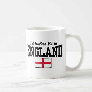 I'd Rather Be In England Coffee Mug