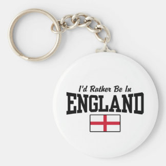 I'd Rather Be In England Key Chains