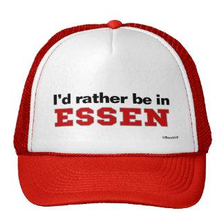 I'd Rather Be In Essen Trucker Hat