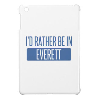 I'd rather be in Everett WA iPad Mini Case