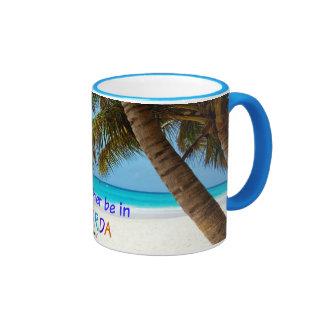I'd Rather be in Florida Ringer Mug