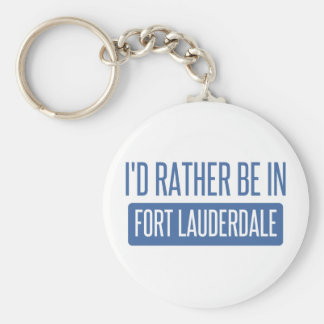 I'd rather be in Fort Lauderdale Keychain