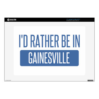 """I'd rather be in Gainesville GA 15"""" Laptop Skin"""