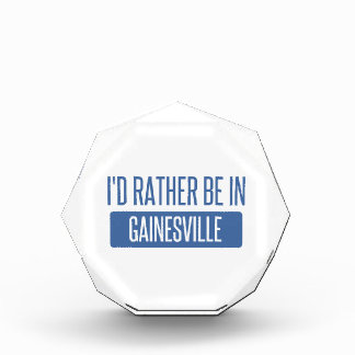 I'd rather be in Gainesville GA Acrylic Award