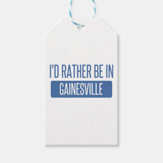 I'd rather be in Gainesville GA Gift Tags