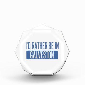 I'd rather be in Galveston Acrylic Award