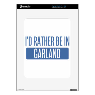 I'd rather be in Garland Decals For The iPad