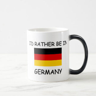 I'd rather be in Germany Coffee Mugs