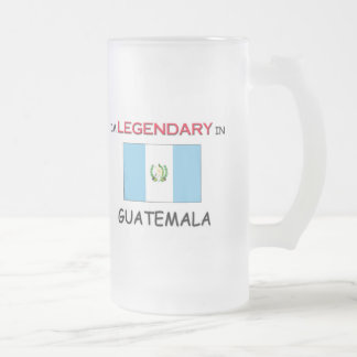 I'd Rather Be In GUATEMALA Frosted Glass Beer Mug