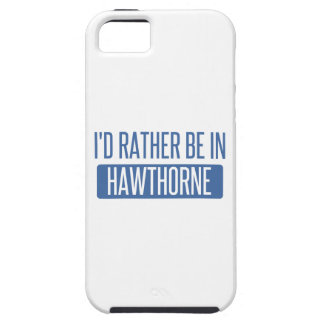 I'd rather be in Hawthorne iPhone SE/5/5s Case