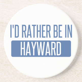 I'd rather be in Hayward Drink Coaster