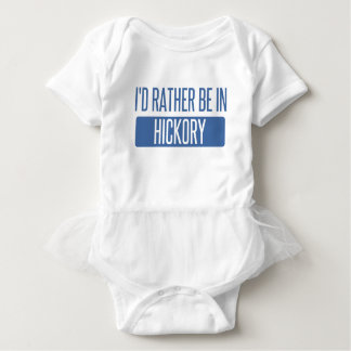 I'd rather be in Hickory Baby Bodysuit
