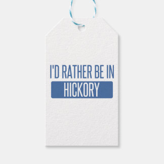 I'd rather be in Hickory Gift Tags