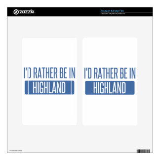 I'd rather be in Hillsboro Decals For Kindle Fire