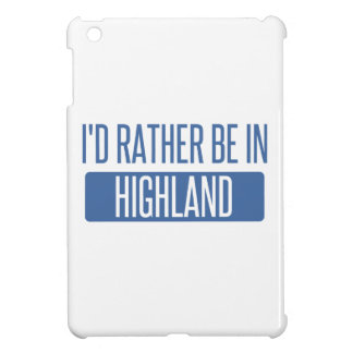 I'd rather be in Hillsboro iPad Mini Covers