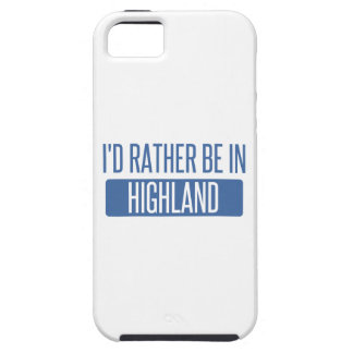 I'd rather be in Hillsboro iPhone SE/5/5s Case