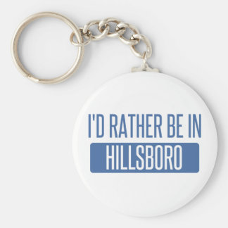 I'd rather be in Hoboken Keychain