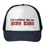 I'd Rather Be In Hong Kong Mesh Hats