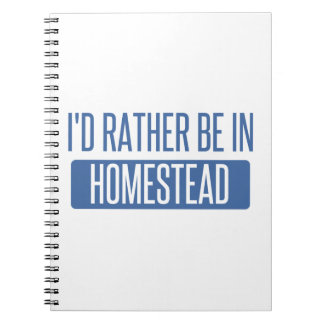 I'd rather be in Honolulu Notebook