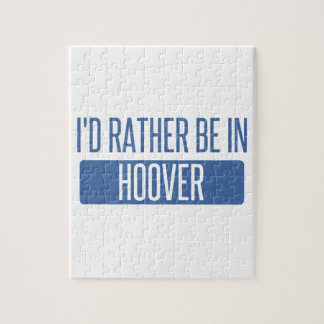 I'd rather be in Hoover Jigsaw Puzzle