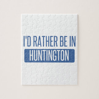 I'd rather be in Huntington Beach Jigsaw Puzzle