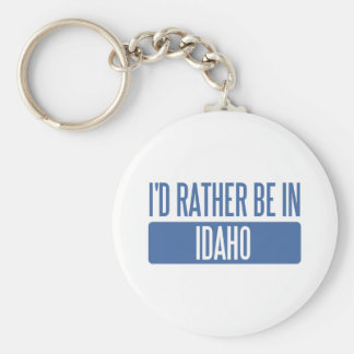 I'd rather be in Idaho Keychain
