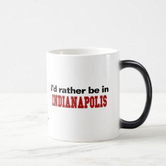 I'd Rather Be In Indianapolis Magic Mug