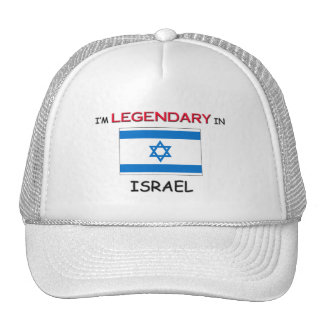 I'd Rather Be In ISRAEL Mesh Hat