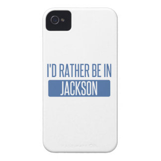 I'd rather be in Jackson TN Case-Mate iPhone 4 Case