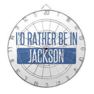 I'd rather be in Jackson TN Dartboard With Darts