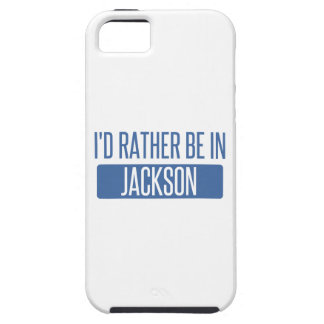 I'd rather be in Jackson TN iPhone SE/5/5s Case