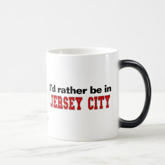 I'd Rather Be In Jersey City Coffee Mugs