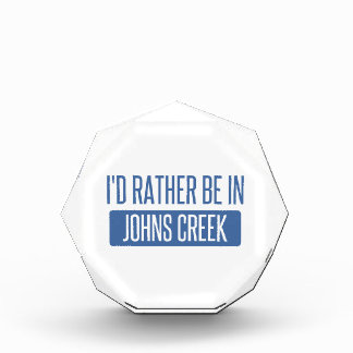 I'd rather be in Johns Creek Award