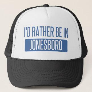 I'd rather be in Jonesboro Trucker Hat
