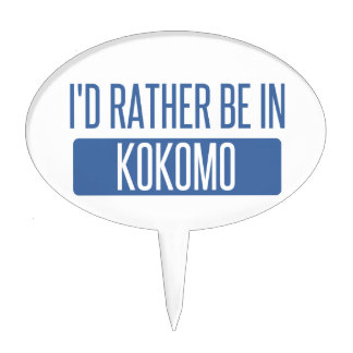 I'd rather be in Kokomo Cake Topper