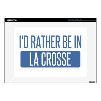 I'd rather be in La Crosse Laptop Skins