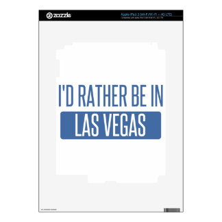 I'd rather be in Las Vegas Skins For iPad 3
