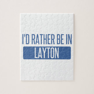 I'd rather be in Layton Jigsaw Puzzle