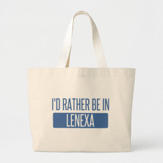 I'd rather be in Lenexa Large Tote Bag