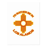 I'd Rather Be In Los Alamos Postcard