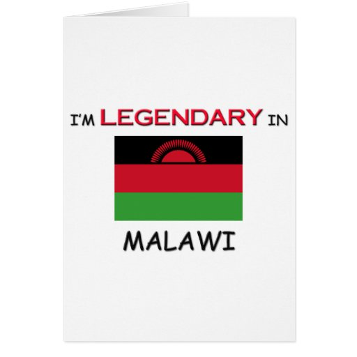 I'd Rather Be In MALAWI Greeting Card