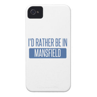 I'd rather be in Mansfield OH iPhone 4 Cover