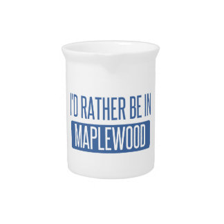 I'd rather be in Maplewood Beverage Pitcher