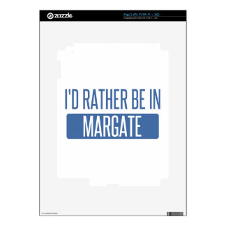 I'd rather be in Margate Decals For The iPad 2