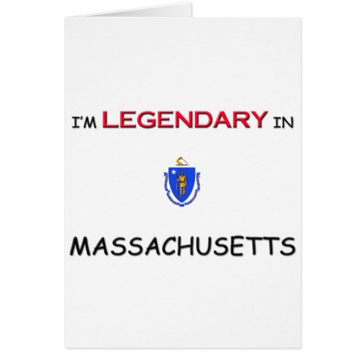 I'd Rather Be In MASSACHUSETTS Greeting Card