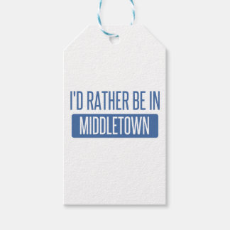 I'd rather be in Middletown CT Gift Tags