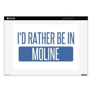 I'd rather be in Moline Laptop Skins